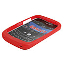 Silicone Case for BlackBerry 9000 (Red)