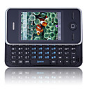 N88 Quad Band Dual Card Dual Standby Dual Bluetooth Flat Touch Screen QWERTY Keypad Side Slide Cell Phone (2GB TF Card)