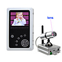 2,5 pollici TFT LCD 2.4GHz Wireless Baby Kit dvr monitor con telecamera wireless (sfa82)