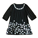 Half Sleeves Round Neckline Sequin Chiffons Little Black Dress Women's Dresses(1802BA021-0741)