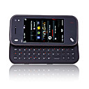 N97 style mini carte double double camra quadri-bande tlphone coulissant cellule brun et noir (2 Go Carte TF) (sz00720543)