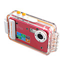 Tekxon Z68 5.0MP CMOS 12MP Enhanced Digital Waterproof Camera with 2.0 Inch TFT LCD and 8X Digital Zoom (DCE1038-1)