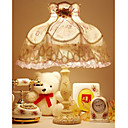 Voilet Lace Table Lamp(0836-QY-8381)