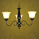 Modern 3-light Iron Chandelier(0810- 2050-3U)