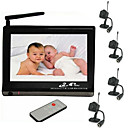 7 Inch Baby Monitor + 2.4GHz, 4 Channel, 1/3&quot; CMOS