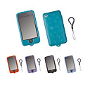 Silicone Protective Case for iPhone 3G/3GS - Droplet Design (5 Colors Per Pack)