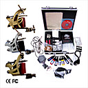 Livraison gratuite Kit Professionnel TATTOO MACHINE srie complte avec 3 machines gun Tattoo (0359-03.16-T004)