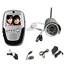 Wireless Color Nightvision Security Camera System with Microphone