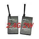 2.4ghz 2.4g 2w 2000mw transmissor sem fio de udio e vdeo