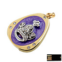 Grand Crown Jewelry USB Flash Drive - Optional Memory From 2 GB to 16 GB (SMQ4621)