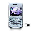 W9700 WIFI Quad Band Dual Card TV JAVA Dual Camera Flashlight QWERTY Keypad Trackball Design Bar Cell Phone (2GB TF Card)