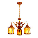 Antique Inspired Chandelier with 3 Lights (220-240V Voltage)