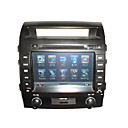 8&quot; Digital Touch Screen 2 Din Car DVD Player-GPS-Bluetooth-Ipod-RDS-TV-Steering Wheel Control for 2008-2010 New Landcruiser HF-8002