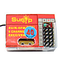 sunip fm 40 MHz 6-kanaals radio-ontvanger voor het vliegtuig (h290410025733)