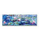 Handmade Painting Water Lilies Claude Monet Stretched Ready to Hang(0192-YCF102703)
