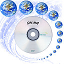 dvd con el mapa mundial - Sistema de navegacin GPS (szc2617)