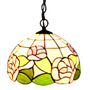 Rose Floral Tiffany Pendant Light (0864-HZ1243)