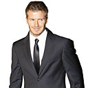 Single-Breasted 2 Button Side-vented Notch Lapel Wool Groom Wear/ Tuxedo/ Men's Suit Jacket and Pants(PMSSXZ0012)