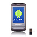 9500 Google Android systeem dual-band gsm850/1900mhz wifi java touch screen slimme mobiele telefoon (2GB TF-kaart)