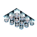 Crystal Glass 9-light Ceiling Light(0863-4530)