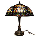 Tiffany-style Jewel Orchid Table Lamp(0923-T29)