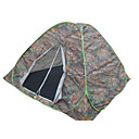 7 X 7-Feet Four-Person Double Layer Camouflage Tent(0956-05.31-HW-17)