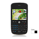 G3 Quad Band Dual Card TV JAVA Trackball QWERTY Keypad Bar Cell Phone (2GB TF Card)(SZ05440609)