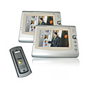 7 inch scherm visuele digitale video-parlofoon met 2 monitoren (0785-VDP 311-202-311)