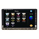 7&quot; Digital Touch Screen 2 Din In-Dash Car DVD Player - GPS - Bluetooth - DVB-T - Ipod - Radio - J-7682N