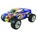 1/10th Scale 4WD Nitro Powered Monster Truck Blue (TPGT-1088UB)