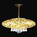Electrophoresis Gold K9 Crystal 3-light Ceiling Light(0946-OL-485)