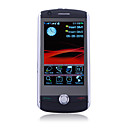 D9000 WiFi TV Dual Card Quad Band Java Ebuddy Facebook 3.2 Inch Touch Screen Cell Phone Black(2GB TF Card)