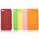 Protective Cover for iPhone 4 - Grid (5 Colors Per Pack )