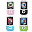MP3 Player With 1.8' TFT-LCD Display Package Sale - Pack Of 4pcs, Color Assorted