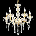 6-lumire de bougie k9 lustre de cristal (0944-hh11001)