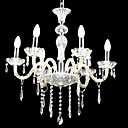 6-lumire de bougie k9 lustre de cristal (0944-hh11031)