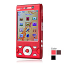 E4 Dual Card Quad Band Dual Camera Flashlight TV WIFI JAVA Slide Cell Phone
