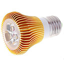 E27 3W 270lumen 3000k Warm White Light Lamp Bulb (85-265V)