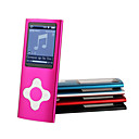 4GB MusicTube 4G Style MP3 Player - 8 Colors Available