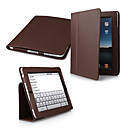 2-in-1 Protective PU Leather Carry Case + Movie Stand for iPad 2/3/4 (Brown)