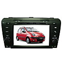 7 polegadas carro dvd player para Mazda3 (2004-2008) com gps do bluetooth tv rds