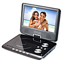 9,5-Zoll Tragbarer DVD-Player mit TV-Funktion, USB-Anschluss, 3-in-1 Kartenleser und Spiele (tra533)