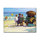 Handmade A Family Outing painting  by  Edward Henry Potthast(0192-YCF103633)