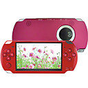 4.3 Inch PSP Style Game MP4 Player (8GB, Red)