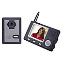 "3.5"" TFT LCD 2.4G Digital Wireless Video Door Phone Monitor and Wireless Night Vision Camera Kit"