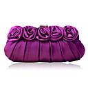  Gorgeous Silk-like Satin Shell Evening Handbags/ Clutches More Colors Available