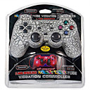 Magic Light 2.4GHz Wireless Game Controller for PS3/PS2/PS1 (White)