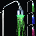 Chrome LED Rain Shower Head 1039-M4304