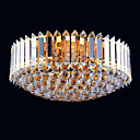 13-light Gold Color Bright Chrome K9 Crystal Ceiling Light (1069-J9850-X13)