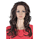 Lace Front Long Top Grade Quality Synthetic Light Brown Curly Hair Wig